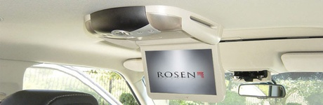 Rosen Ceiling Mounted video systems