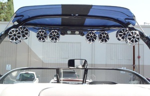 Bullet Audio installs Bullet Tower speakers for the wakeboarding industry