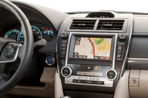 "Toyota ""FIT"" integrated navigation"
