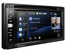 Pioneer touchscreen AV deck