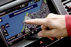 Ford MyTouch Navigation