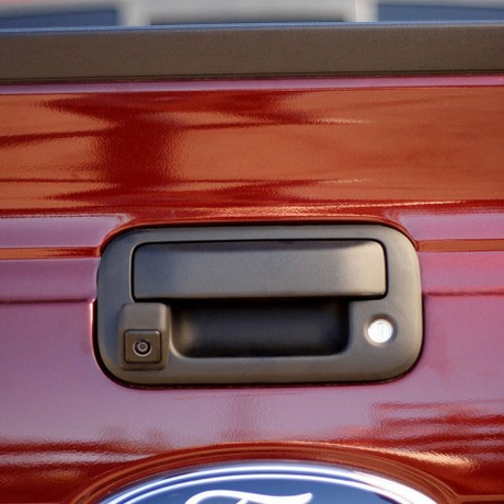 Ford F150 tailgate camera