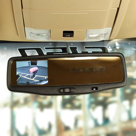 "Ford F150 Rearview mirror with 3.5"" LCD screen"